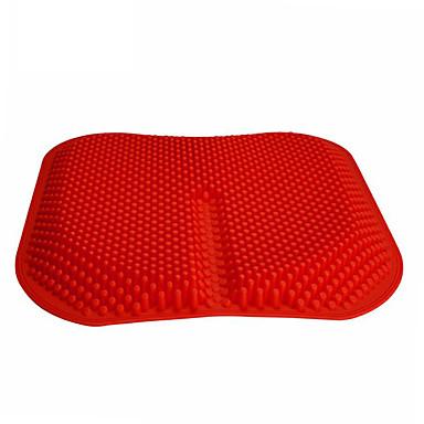 voordelige Auto-interieur accessoires-autostoelhoezen massagekussens hoog geheugen siliconen ademend silicagel gaaskussen