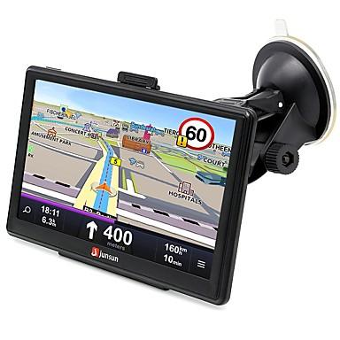 billige GPS-navigasjon for bil-junsun d100s 7 tommers hd kapasitiv berøringsskjerm 3d bil gps navigasjonsvinduer ce 6.0 mointor bluetooth fm mp3 mp4 video gratis kartoppdatering tf kortspor
