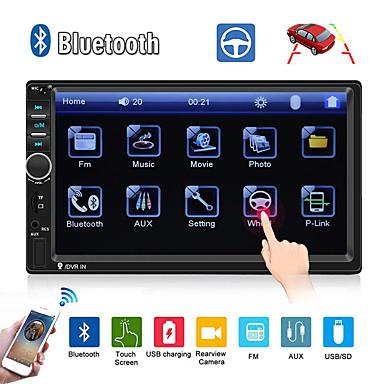 billige Bil Elektronikk-swm 7018b 7 tommers 2 din annen os bil mp5 spiller / bil mp4 spiller / bil multimediaspiller berøringsskjerm / mp3 / innebygd Bluetooth for universal rca / tv out / bluetooth support mpeg / avi / mpg