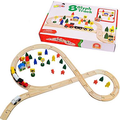 Stresslindrende leker Tog Spesialdesignet simulering Foreldre-barninteraksjon Tre Barne Elementary Leketøy Gave