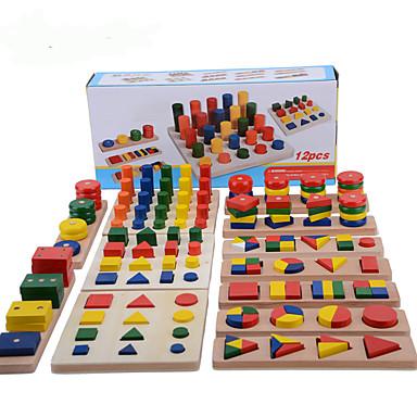 voordelige Rekenspeelgoed-Montessori lesmateriaal Steekpuzzels Rekenspeelgoed Onderwijs Cool Meisjes Jongens Geschenk