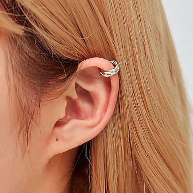voordelige Dames Sieraden-Dames Clip oorbellen Mini oorbellen Sieraden Goud / Zilver Voor Feestdagen 1pc