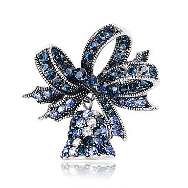 voordelige Dames Sieraden-Dames Broches Broche Sieraden Rood Blauw Voor Kerstmis Dagelijks