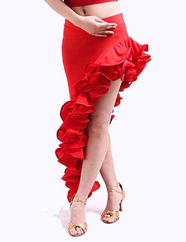 viscose dancewear robe flamenco avec volants jupe pour les dames