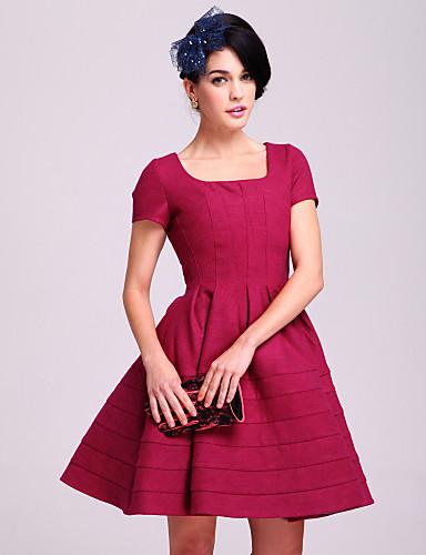 ts estilo vintage princesa vestido