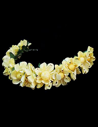 abordables Demoiselles d'Honneur-Cristal / Tissu / Papier Diadèmes / Bandeaux / Fleurs avec 1 Mariage / Occasion spéciale / Fête / Soirée Casque