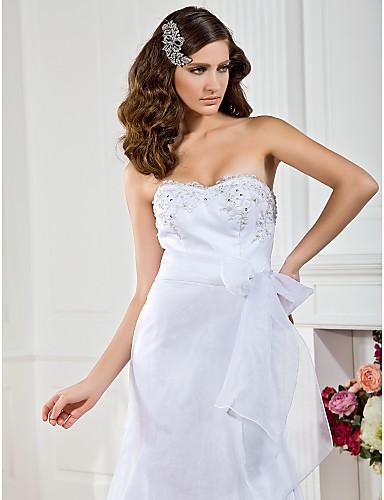 Elegante Organza / sposa fusciacca nastro (più colori)
