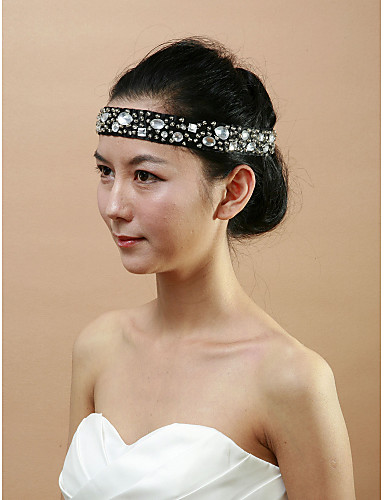 Women's Acrylic Cotton Headpiece-Wedding Special Occasion Headbands
