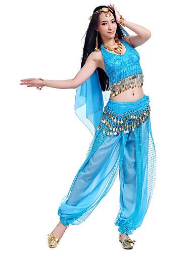 Fascinantno izvedbe šifon Trbušni ples odjeća za dame (Više boja)
