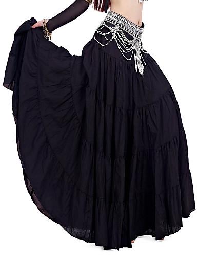 Göbek Dansı Alt Giyimler Kadın's Keten Doğal / Performans