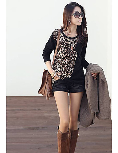 Women trendy loose printed top