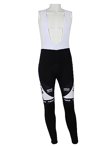 cheap Cycling Clothing-Malciklo Men's Women's Cycling Bib Tights Norway Champion National Flag Bike Jersey Tights Bib Tights Windproof Quick Dry Waterproof Zipper Sports Polyester Elastane Norway Mountain Bike MTB Road