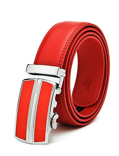 Men's Party Work Leather Alloy Buckle - Solid Colored