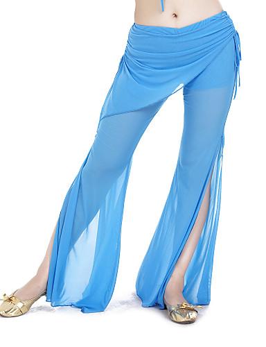 Göbek Dansı Alt Giyimler Kadın's Eğitim Polyester Pantalonlar
