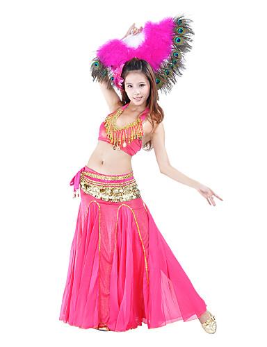 Dans din Buric Pentru femei Antrenament Poliester Natural