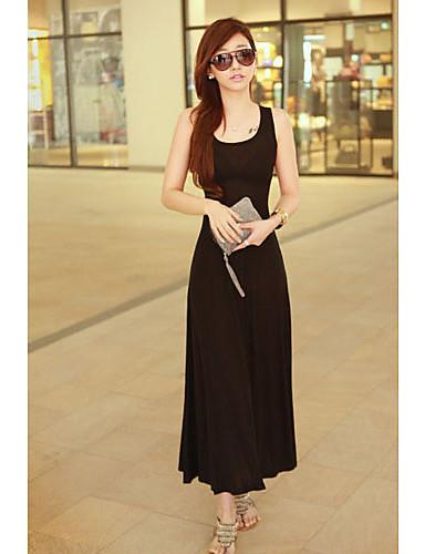 DSL Korean Mesh Beach Dress (Black)