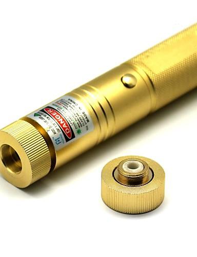 저렴한 전기 & 도구-손전등 모양의 레이저 포인터 532 Aluminum Alloy