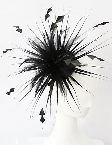 abordables Chapeau & coiffure-Cristal Cuir Tissu Diadèmes Fascinators 1 Mariage Occasion spéciale Fête / Soirée Casque