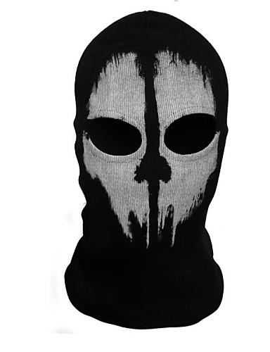abordables Cosplay & Disfraces-Parca Máscara Hombre Halloween Festival / Celebración Traje carnaval Estampado