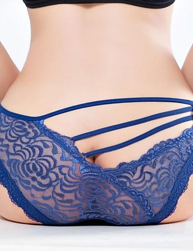 sexy dantelă perspectivă pantalon pentru femei