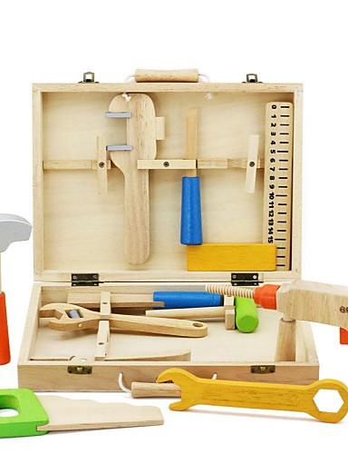 voordelige Speelgoedgereedschap-Speelgoedgereedschap Gereedschapskisten verenigbaar Legoing Veiligheid Klassiek Jongens Speeltjes Geschenk