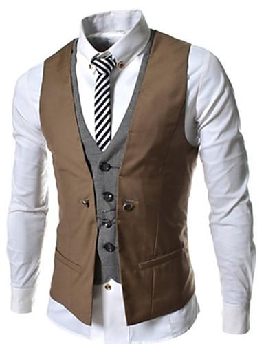 4e9b860fcf Allen férfi divat minden egyezik egyszínű mellény 2828480 2019 – $13.99
