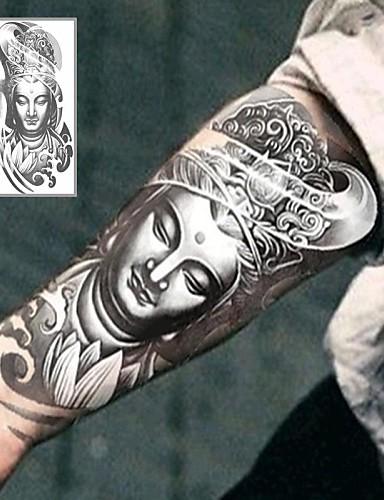 c1e1af5a2 1 pcs Αυτοκόλλητα Τατουάζ προσωρινή Τατουάζ Σειρά Τοτέμ Ειδικό σχέδιο /  Φιλικό προς το περιβάλλον Τέχνες σώμα μπράτσο / Πόδι / Τατουάζ αυτοκόλλητο