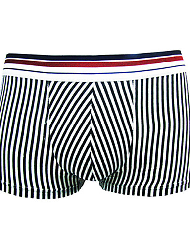 le confort du coton sous-vêtements boxer des hommes