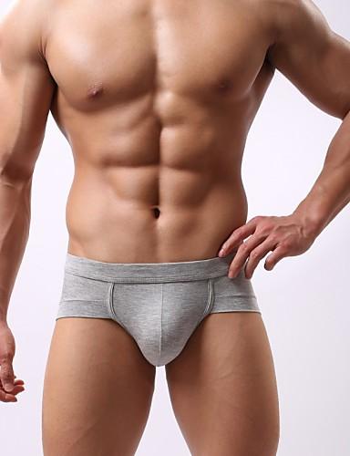 voordelige Herenondergoed & Zwemkleding-Effen - Super Sexy Boxer shorts Heren 1box