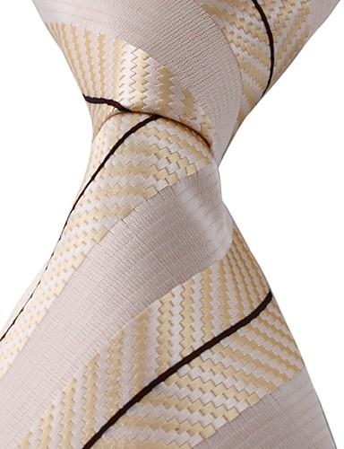 Unisex Fest Kontor Grunnleggende Slips - Trykt mønster Polyester