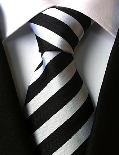 economico Accessori da uomo-Per uomo Classico, Da serata / Da ufficio / Essenziale Cravatta A strisce