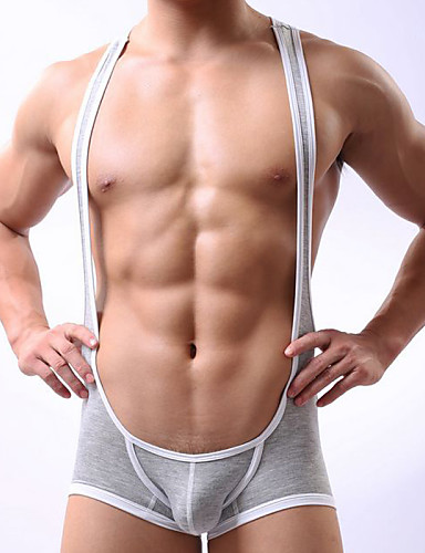 Men's Ultra Sexy Panties Solid Colored Low Waist