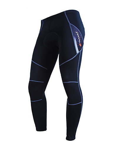 cheap Cycling Clothing-Nuckily Men's Women's Bike Pants / Trousers Pants Bottoms Thermal / Warm Windproof Fleece Lining Sports Polyester Fleece Winter Gray / Red / Blue Clothing Apparel Bike Wear / Breathable / Stretchy