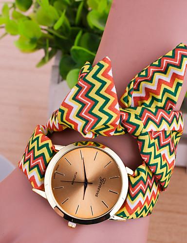 Pentru femei Quartz Ceas Brățară Ceas Casual Material Bandă Charm Modă Multicolor