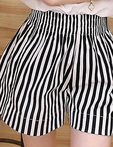 e48016a9c4 Mujer Tallas Grandes Perneras anchas   Vaqueros Pantalones - A Rayas ...