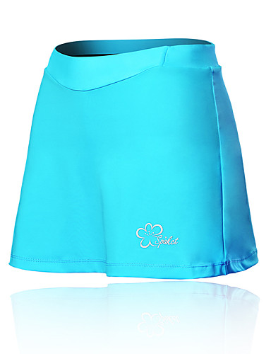 cheap Cycling Clothing-SPAKCT Women's Cycling Skirt Bike Shorts / Skirt / Padded Shorts / Chamois Breathable, 3D Pad Solid Colored, Patchwork, Classic Spandex Black / Blue / Pink Advanced Mountain Cycling Semi-Form Fit