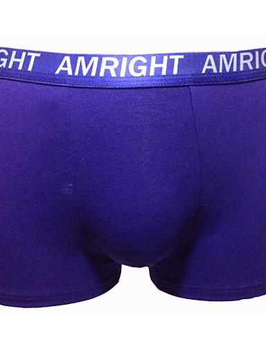 Am Right גברים כותנה / ספנדקס / צורני מכנסוני בוקסר 3 / תיבה-AWH077