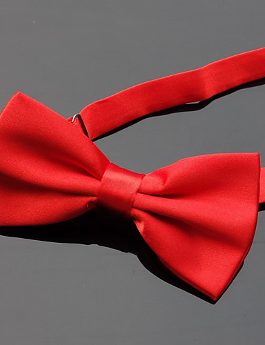 cheap Men's Ties & Bow Ties-Men's Party / Basic Bow Tie - Solid Colored