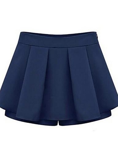Kadın Normal Bel İnelastik Kotlar Kotlar Pantolon Solid