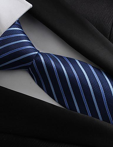 Homme Polyester Rétro Soirée Travail Cravate