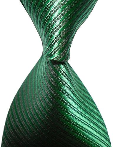 עניבת צווארון וינטאג' / חמוד / מסיבה / עבודה / יום יומי,גברים ריון / כותנה / פוליאסטר