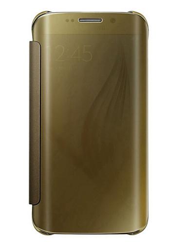Custodia Per Samsung Galaxy Samsung Galaxy S7 Edge Con chiusura magnetica / Traslucido Integrale Tinta unita PC per S7 edge plus / S7 edge / S7