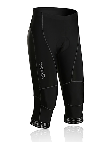 cheap Cycling Clothing-SPAKCT Cycling 3/4 Tights Men's Bike Bottoms Quick Dry Breathable 3D Pad Reflective Strips Spandex Nylon Sports Classic Cycling/Bike