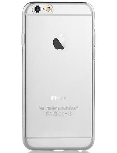 Hülle Für Apple iPhone 6 Plus / iPhone 6 Transparent Rückseite Solide Weich TPU für iPhone 6s Plus / iPhone 6s / iPhone 6 Plus