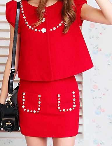 Rose Doll® Femme Au dessus des genoux Jupe-X14ASK070