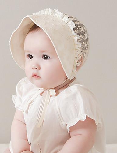 כובעים ומצחיות All Seasons בז' תחרה נערות / בנים