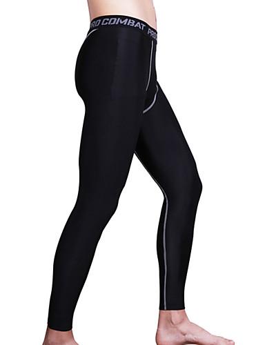 7f07968d5b26 Men s Compression Pants Running Tights Gym Leggings Black Gray Black    Green Sports Compression Clothing Tights Fitness Gym Workout Workout  Activewear ...