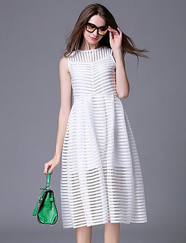 maxlindy kvinder gå ud / afslappet / daglig / fest / cocktail vintage / gade chic ophisticated en linje kjole