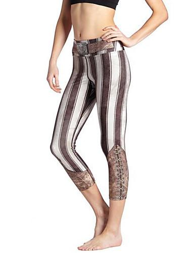Vrouw Print Legging,Spandex