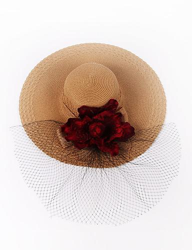 Mulheres Casual Chapéu de sol Sólido